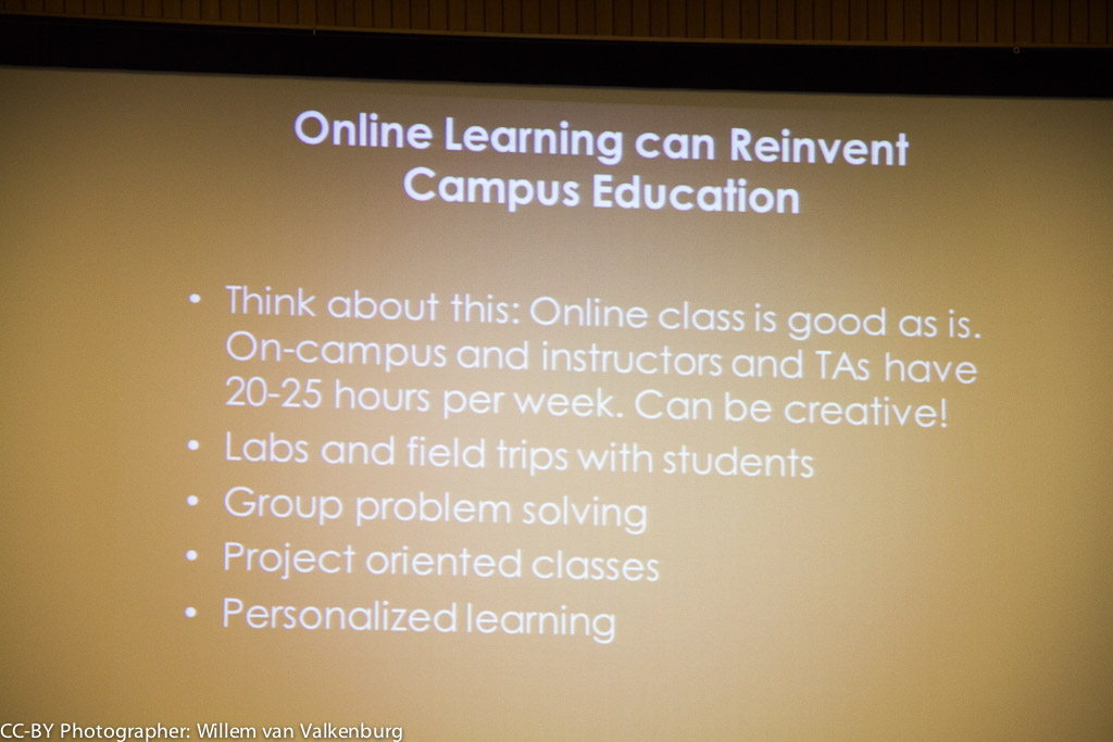 Online Learning can Reinvent Campus Education
